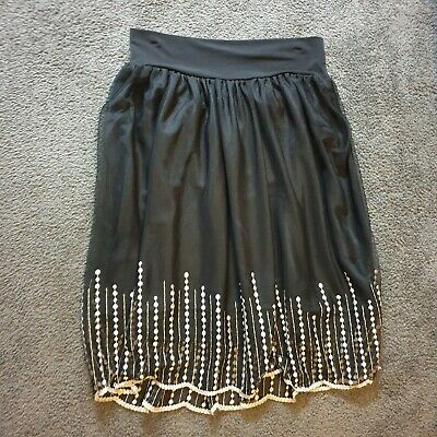 Black Ripe Maternity Skirt Small Brand New with Tags Made in Australia