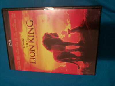The Lion King (DVD, 2019)