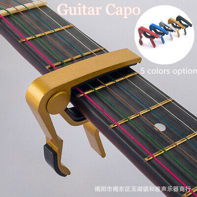 Guitar Capo Trigger Clamps For Acoustic Electric Classical Guitars & Banjo.