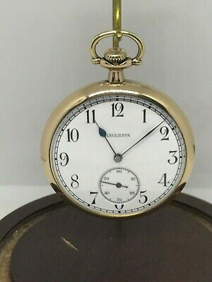 Illinois Hallmark  12s 15 Jewel Grade 503  circa 1918 pocket watch running