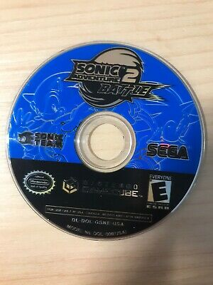 Sonic Adventure 2 Battle (Nintendo GameCube, 2002) Game Disc Only WORKS TESTED
