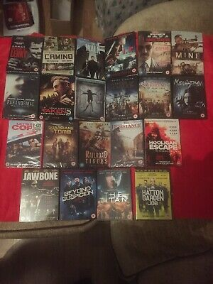 DVD Bundle - x 21 - New Release Action Thriller - Brand New Sealed