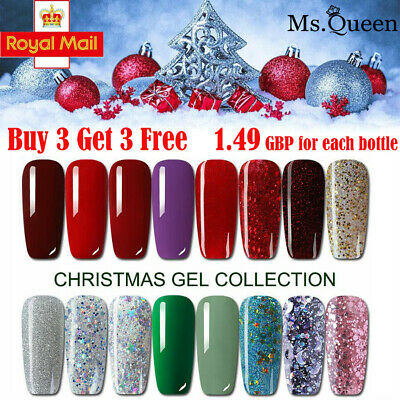 MS.QUEEN 10ml Gel Nail Polish Gelpolish No Wipe Top Base Coat Lacquer Manicure