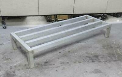 Aluminum Dunnage Rack 48x18x8 pallet stand