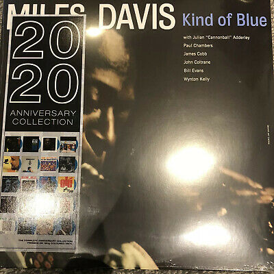 Miles Davis - Kind Of Blue 2020 ltd Blue Vinyl LP - New & Sealed DOL725HB