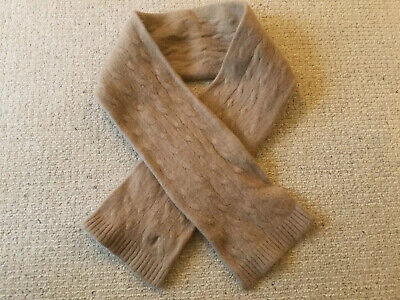 Ralph Lauren Baby Toddler Beige Wool/cashmere Scarf One Size Age Approx 1-2 Yrs