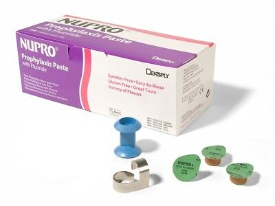Dentsply 801299 Nupro Prophy Paste Cups Plus Grit Mint With Fluoride 200/Pk