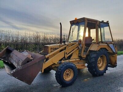 Ford 550 Backhoe Loader