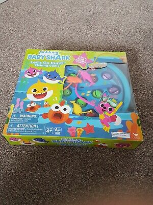 Pinkfong baby shark fishing Game