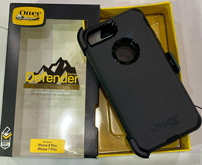 Otterbox Defender Case for iPhone 8 Plus & 7 Plus (5.5') with Clip Holster BLACK