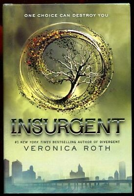 Veronica Roth INSURGENT Divergent Series Book #2 NICE HC/DJ Young Adult Dystopia