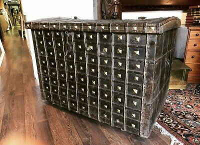Huge 19th Century Country House Chest