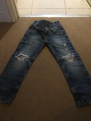 Next Boys 3yrs Ripped Jeans