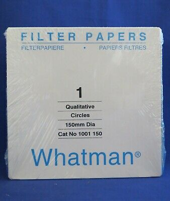 Whatman Qualitative Filter Paper Circles Grade 1 150MM  1001-150