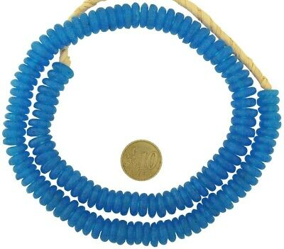 64 Handmade Ghana Recycled Interlock Spacer African Trade Beads-Pick Your Color