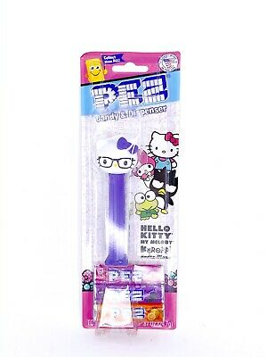 PEZ Candy & Dispenser - Hello Kitty My Melody - Hello Kitty Nerdy, Sanrio