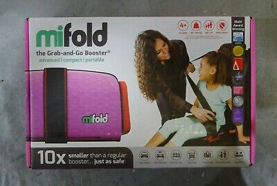 mifold Grab and Go Booster seat- Pink