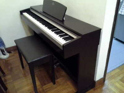 Yamaha Arius YDP-141 digital piano in rosewood, weighted keys, 3 pedals, stool