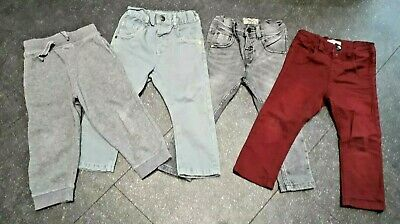 X4 bundle Next And TU boys Jeans and Joggers  Size 18 - 24 Months