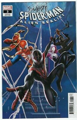 Symbiote Spider-Man Alien Reality # 3 Connecting Variant NM