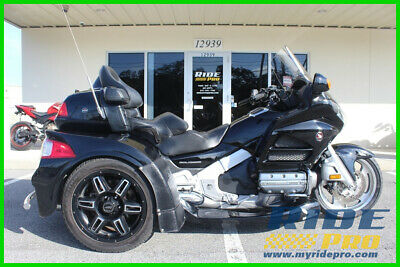 2015 Honda Gold Wing Audio / Comfort 2015 Honda Gold Wing GL1800 With Motor Trike Kit - USED