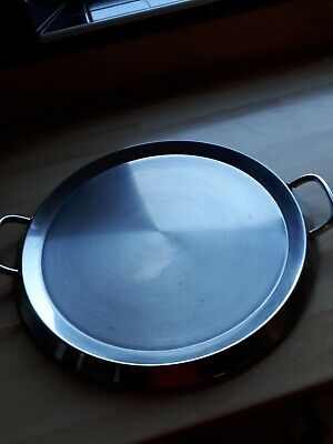 Stellar 8000 Professional Two Handled Stainless Steel Griddle Pan