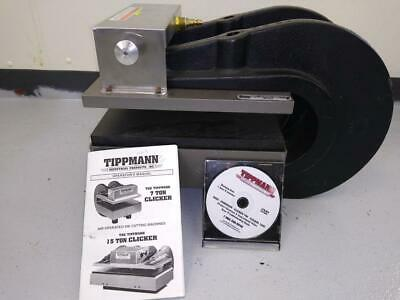 Tippman 700, 7 Ton Clicker. Die Cutting Machine + Manual-FREE SHIPPING