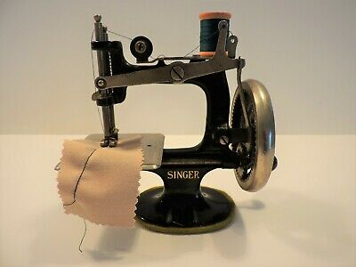 Antique Singer Model 20 - 2 Hand Crank Child's Sewing Machine