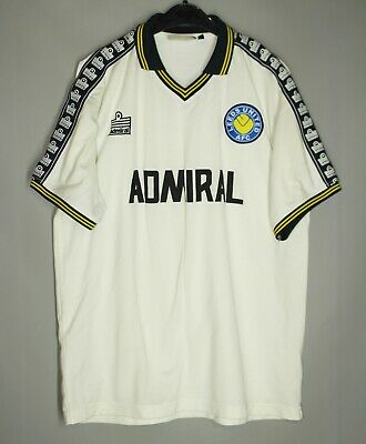 Leeds United 1977/1978 Home Football Shirt Jersey Admiral Size M Retro Replica