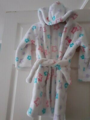 Girls Age 3-4 Years Old Peppa Pig Marks And Spencer Dressing Gown Vgc Night robe