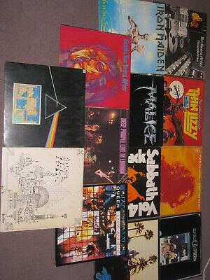 JOB LOT of 53 LP Records Mainly Rock All in Fair to Excellent Condition
