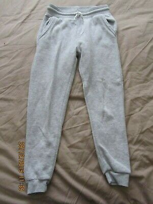 Primark Grey Elasticated Waist Joggers - 7-8 years - Excellent Cond!