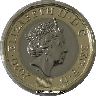 2020 One Pound 12 Sided Coin Brilliant Uncirculated By The Royal Mint