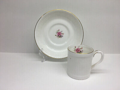 Crown Staffordshire for Danbury Mint - Demitasse Cup and Saucer - Vintage