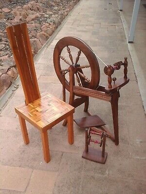 SPINNING WHEEL   ASHFORD  Natural unlaquered Double drive