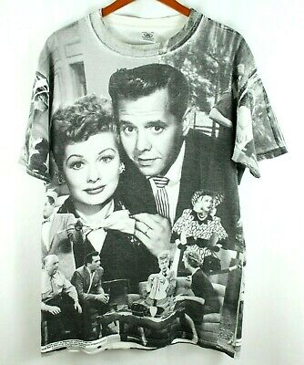 I Love Lucy Show Lucille Ball Fruit Hat RUMBA DANCE 1-Sided Print Poly T-Shirt