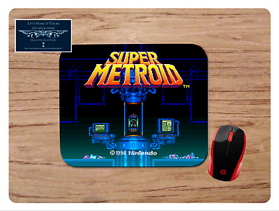 Super Metroid Mousepad Mouse Pad Home Office Gift