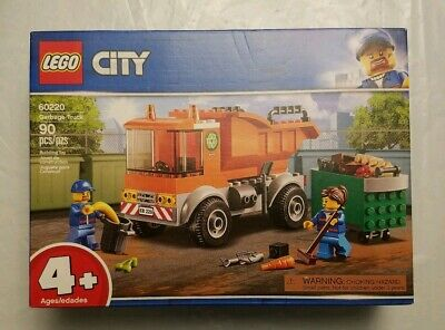 LEGO City Great Vehicles Garbage Truck 60220 Building Kit 90 Piece (Box Damaged)