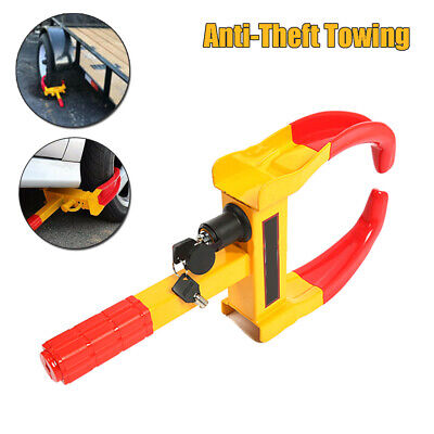 Wheel Lock Clamp Boot Tire Claw Auto Car Truck RV Boat Anti-Theft Towing 49*24CM