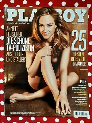 Playboy Germany 07/2016 - Annett Fleischer on cover!