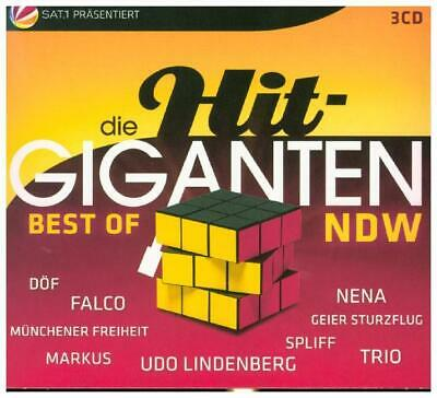 Die Hit Giganten Best Of NDW | CD | NEU | von Various