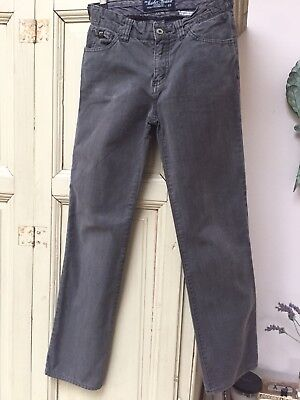 Scotch & Soda grey plaid jeans Age 12