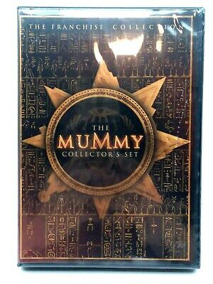 The Mummy 3 Disc Set The Franchise Collection DVD New