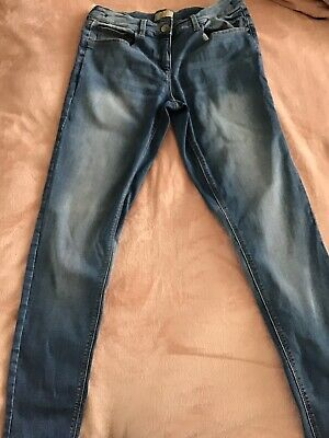 Next Boys Freyed Hem Distressed Jeans Age 16 - Bnwot