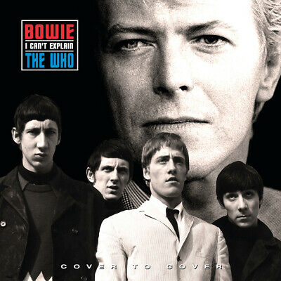 "David Bowie Vs The Who 'Cover To Cover / I Cant Explain' Ltd 7"" Red Vinyl - New"