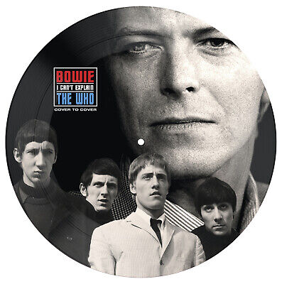 "David Bowie Vs The Who 'Cover To Cover / I Cant Explain' Ltd 7"" Picture Disc New"