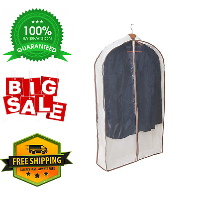 Pro-Mart Dazz Canvas Gusseted Suit Garment Bag With Cedar