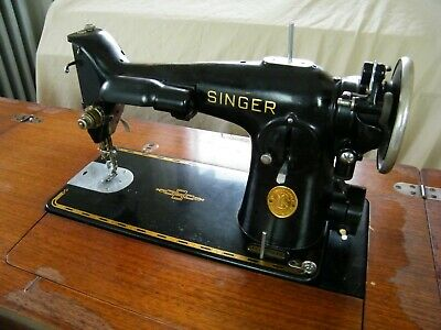WORKS! Antique Art Deco 1938 Electric Singer 201-2 Sewing Machine Head Cord Incl