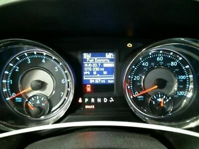 2012 TOWN & COUNTRY Speedometer 120 MPH