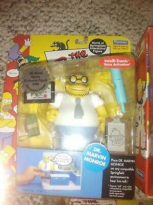 """THE SIMPSONS PLAYMATES INTELLI-TRONIC VOICE ACTIVATION  /""""SIDE SHOW MEL/"""""""